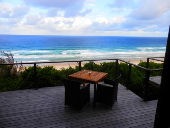 Massinga Beach Lodge: View from our deck