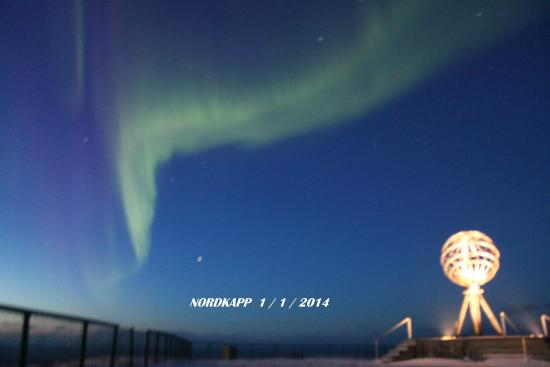 Northern Norway, Norway: AURORA BOREALE CAPONORD 1/1/2014