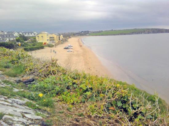 Duncannon Fort Visitor Centre: la spiaggia adiacente
