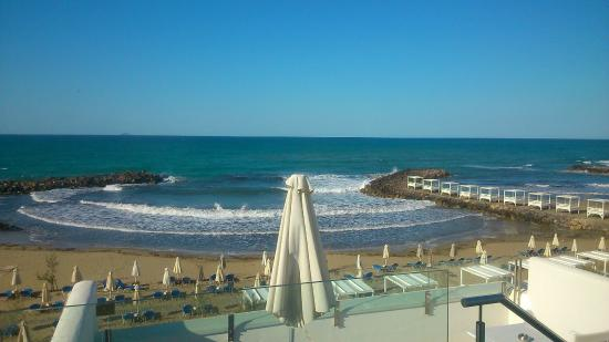 View from the balcony - Picture of Knossos Beach Bungalows