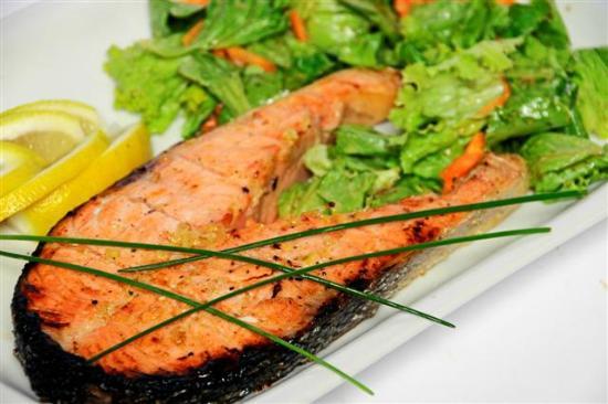 salmon fish-chop / сьомга - котлет - Picture of NORTH BEACH ONE Bar