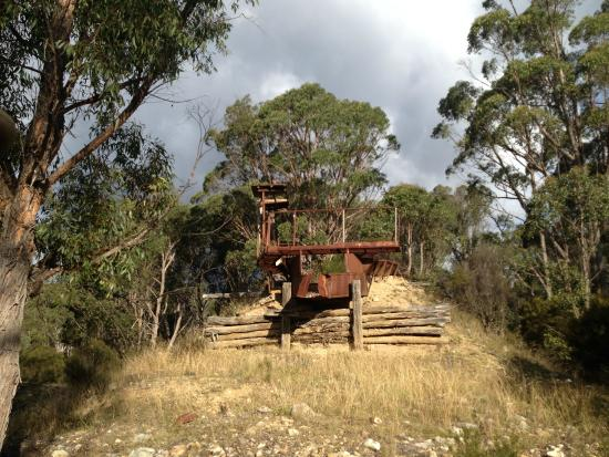 Bullock Mountain Homestead: The mine !