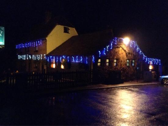 The White Rock Inn Restaurant: Christmas lights