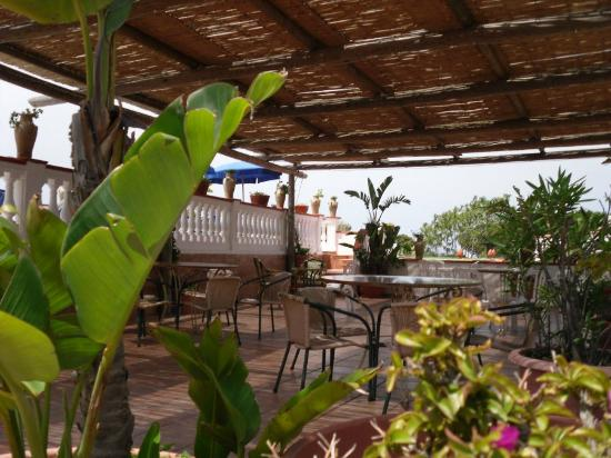 Hotel San Vincenzo Terme: terrazza