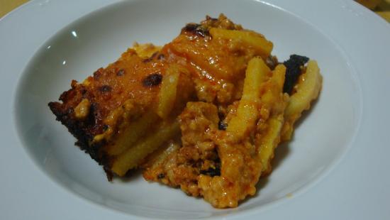 Il Boccon Divino : Lasagna di polenta con sugo di maiale (smaialata del 28/02/2015)