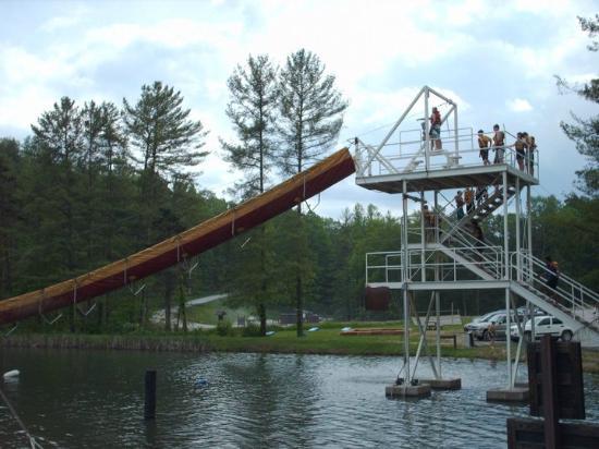 Zipline At Ace Adventure Resort Picture Of Ace Adventure Resort