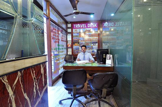 Hotel Shiva Intercontinental: Travel Desk