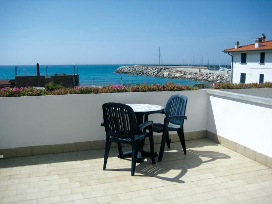 Hotel Villa dei Gerani: terrazza