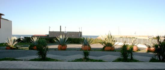 Hotel Villa dei Gerani: parcheggio
