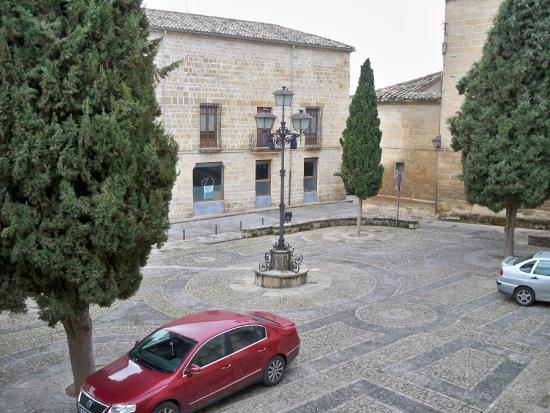 Hotel Alvaro de Torres: PLZA ALVARO DE TORRES desde la habitación