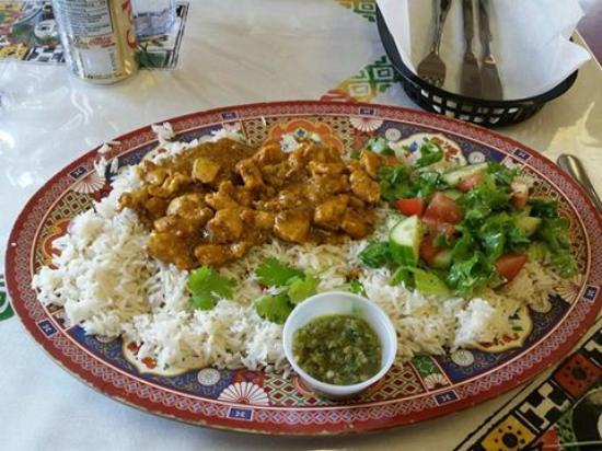 Curried chicken picture of zehabesha traditional for Authentic ethiopian cuisine