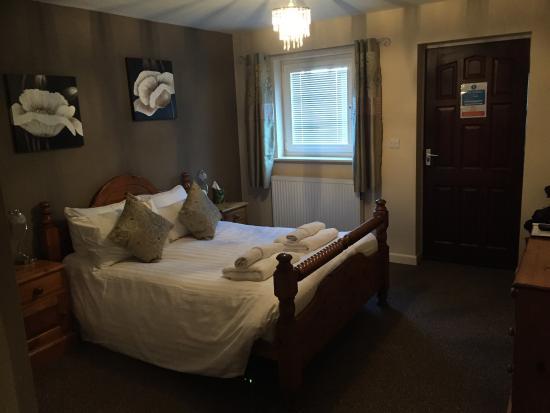 Angel Inn & Lodge: View of my bedroom