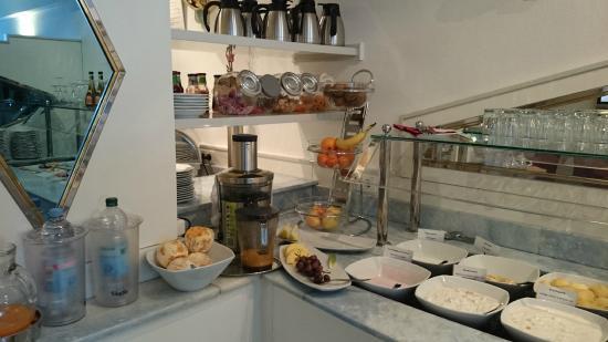 LeoMar Flatrate Hotel: Das Frühstücksbüffet lässt keine Wünsche offen.