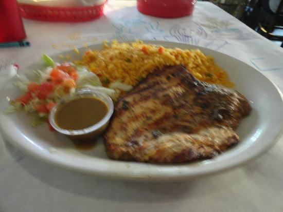 Yucatan Grill: My meal