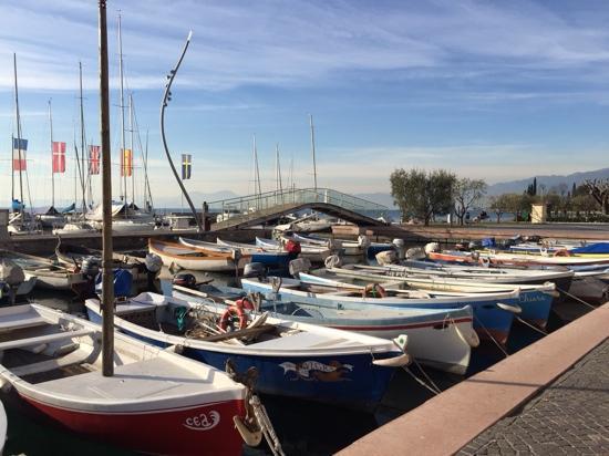 Locanda San Vigilio: Porto di Garda