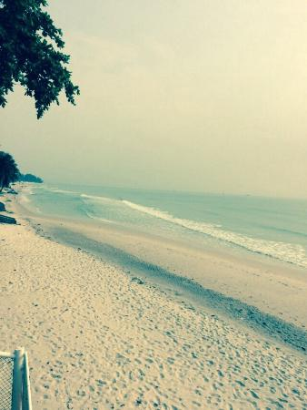 The Sea-Cret, Hua Hin: ด้านหลังโรงแรมเดินมาชายหาดชมทะเลยามเช้าและเย็นได้อย่างสบายๆค่ะ
