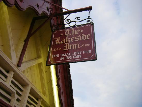 The Lakeside Inn: smallest pub in Britain