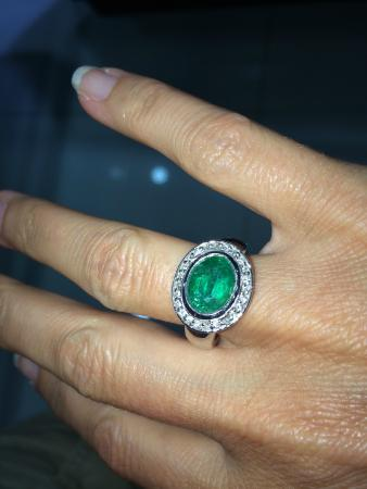 Gold Palace Jewelers: Emerald Ring purchased April 2014