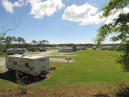 OBX Campground: Sites