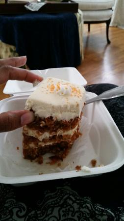 Wallace Station carrot cake