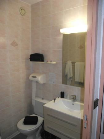 Relax' Otel Le Barcares : La salle de bains
