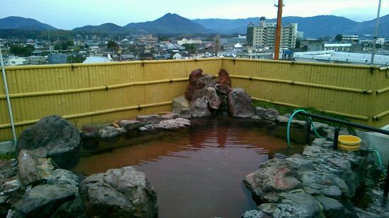 Fuji Hotel : 露天風呂