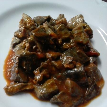 """ristorante """"la Castagneta"""": coratella d'agnello"""