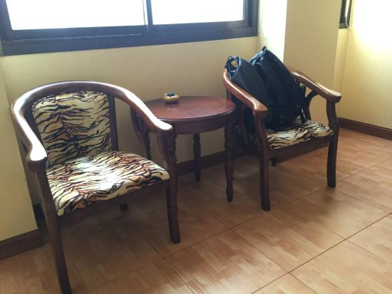 Tiger Inn : The sitting area