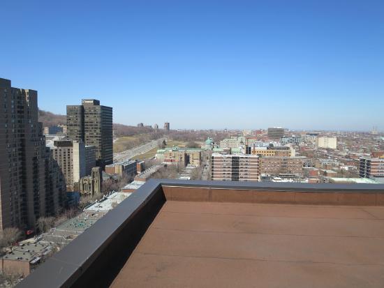 Appartements Trylon: Vue de la terrace