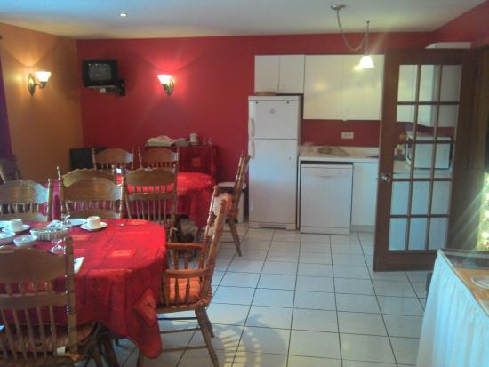 L'Auberge Saint-Pierre: Coin repas