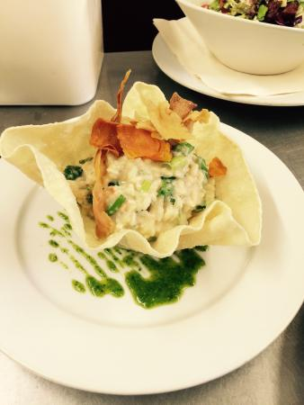 The Wheatsheaf Inn Restaurant: Crab risotto