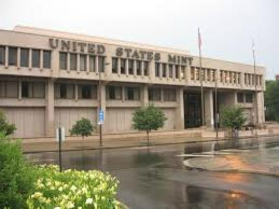United States Mint: The front of the Franklin Mint