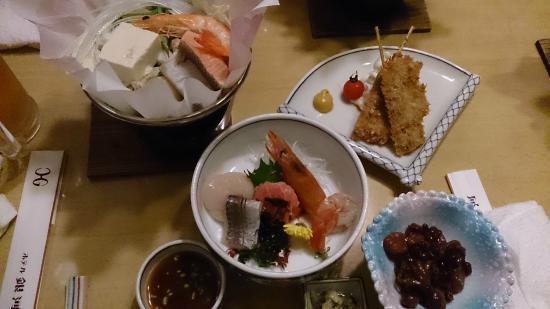 Hotel Ginga: 好吃美味的料理