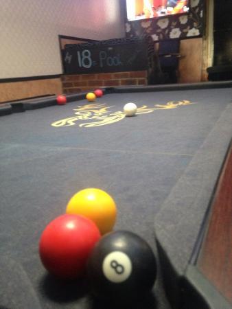 The Buck Inn: Free pool but my mate wished it wasn't haha