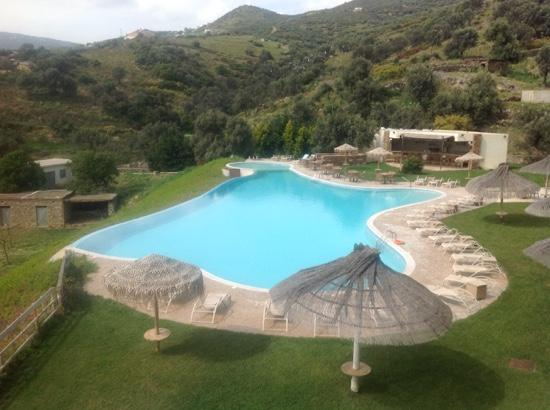 Evia Hotel & Suites: The pool area of Evia Hotel and Suites