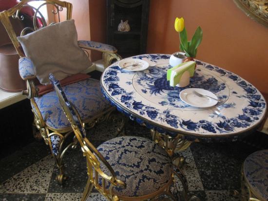 De Gusto: Belle table