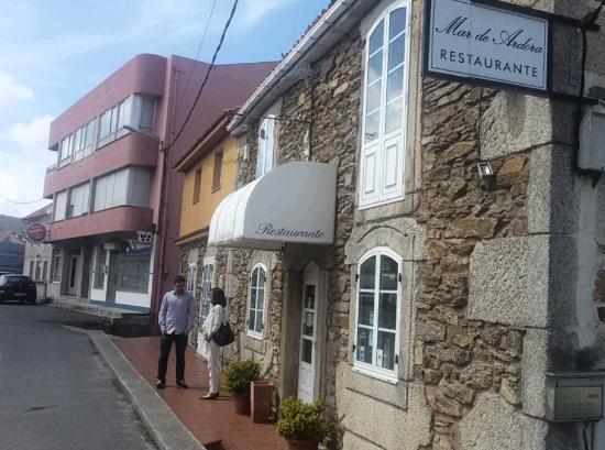 Fachada del restaurante Mar de Ardora