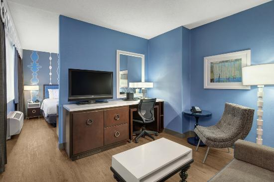 Fairfield Inn & Suites Chicago Downtown/Magnificent Mile: Suite Living Room