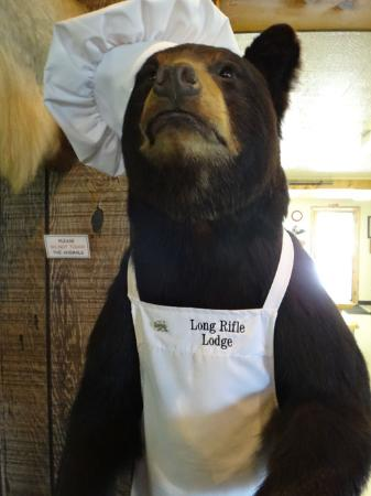 Long Rifle Lodge: He's not really the chef...