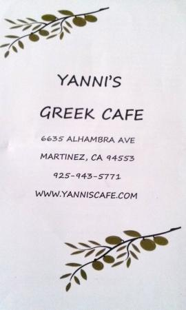 Yanni's Greek Cafe