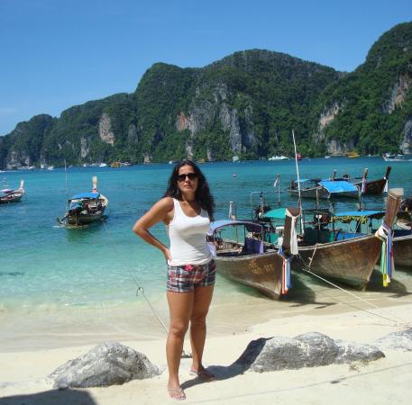 Ko Phi Phi Don, Thailand: Feliz de la vida en Phi Phi!