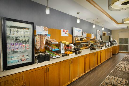 Complimentary Hot Breakfast Buffet Included In Your Stay