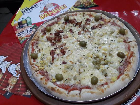 Dai Suki Pizzaria Pizza De Portuguesa Moda Da Casa