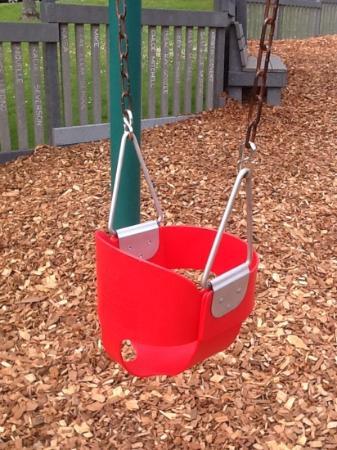 Tapiola Park: my grandson's favorite swing :)