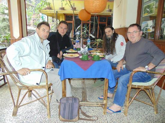 Hotel Potala: Nice teracce