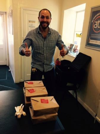 The Keystone: Happy Delivery Man