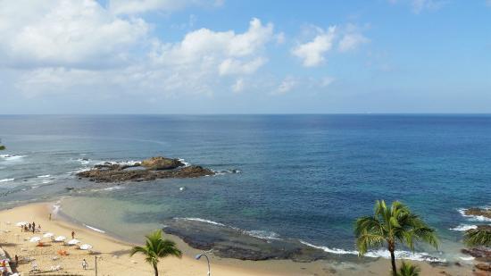 Ondina Apart Hotel : Vista para o mar