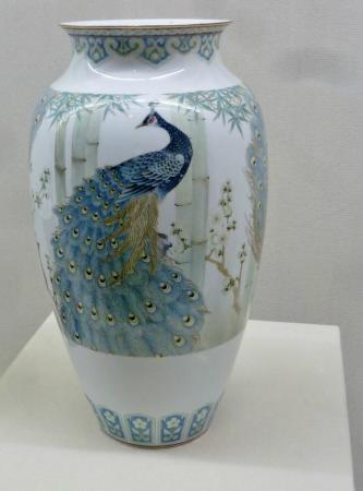 Museum of Porcelain: Vase in museum