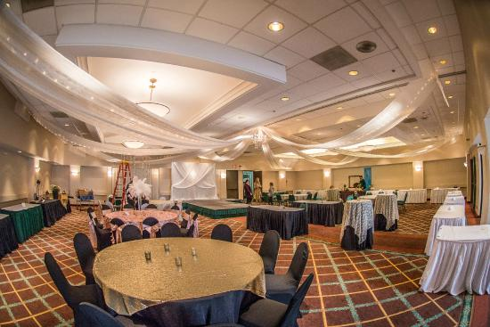 Great Hall Set Up For The 2015 Wedding Open House Picture Of