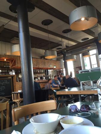 Machinist cafe